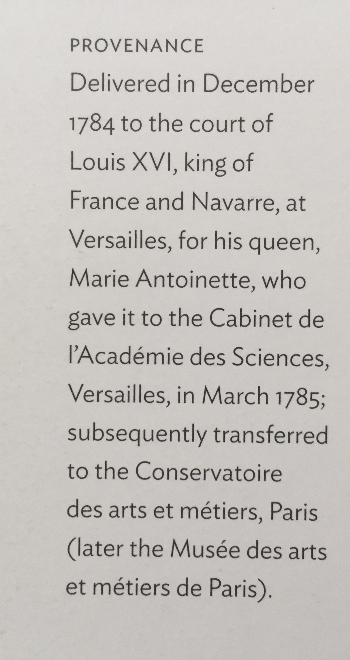Вот ,что заказал король Франция для королевы у короля мебельщиков, правда