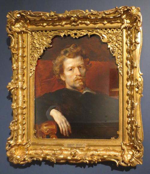 Karl Bryullov (1799-1852), Self-portrait, 1848, State Russian Museum, St Petersburg