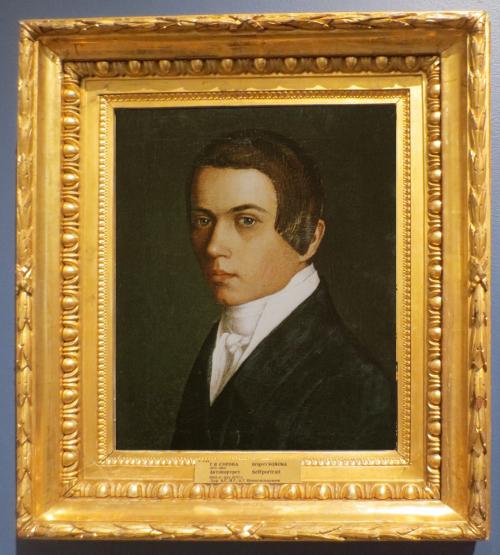 Grigory Soroka (1823-64), Self-portrait, 1840s-50s, State Russian Museum, St. Petersburg