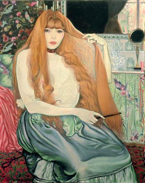 Луи Анкетен «Женщина, расчесывающая волосы»