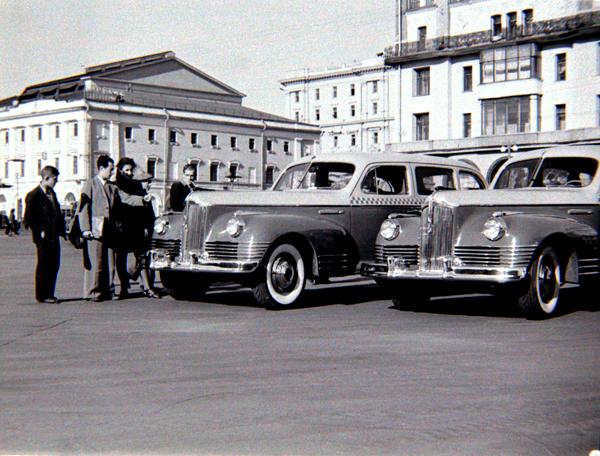 ЗИС-110 такси    Автомобиль представительского класса, разработанный во время Великой Отечественной