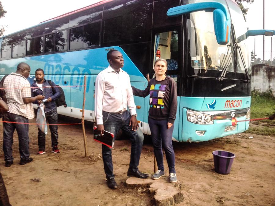 Мунделе в Западном Конго (декабрь 2019)