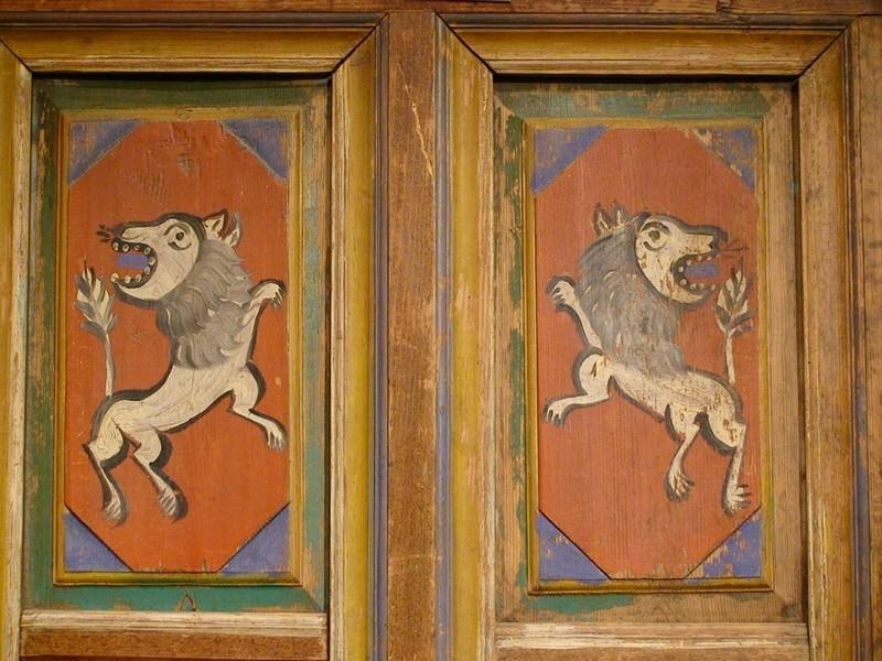 Дивные львы