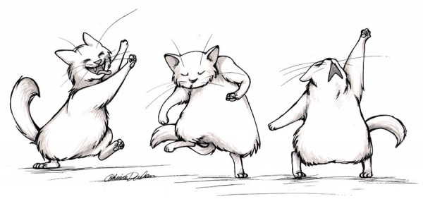 dancing_cats_by_catussnake-d3bwhqk