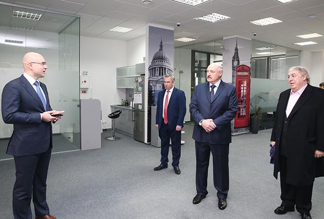 Лукашенко и айтишники