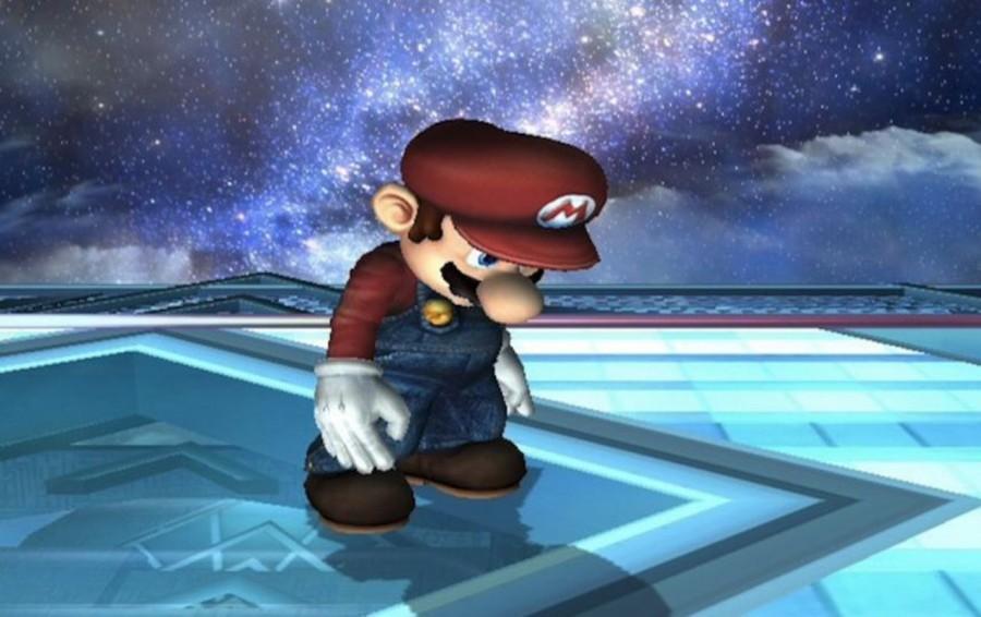 Грустный Супер Марио