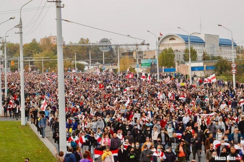 Марш на Жукова