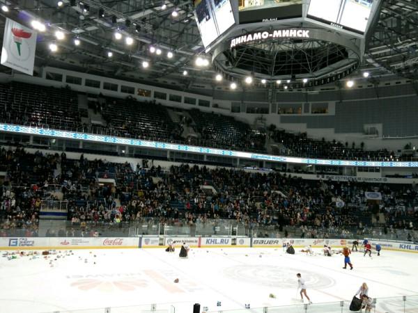хоккей на Минск Арене