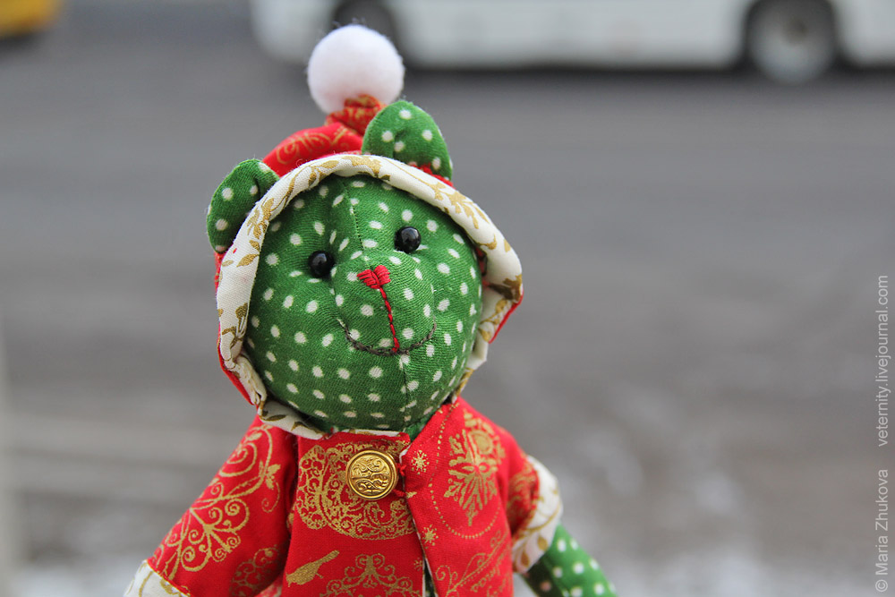 Новогодний Мишка Тильда