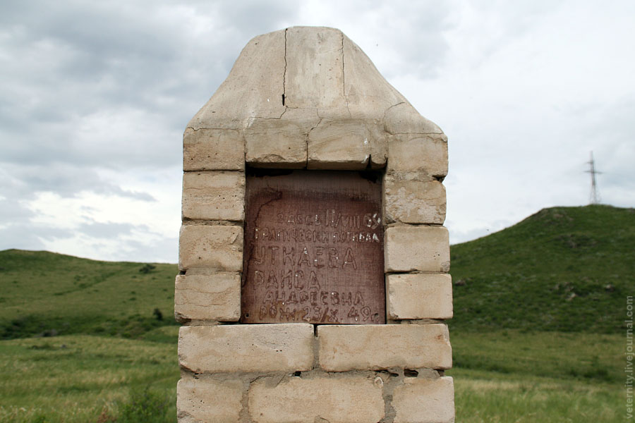 Памятник Уткаевой Ларисы