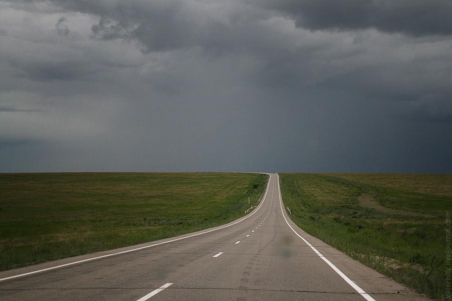 Дорога по Забайкальскому краю