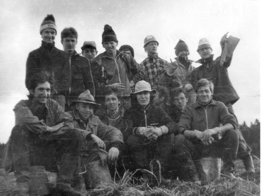 1988 год деревня Лукино