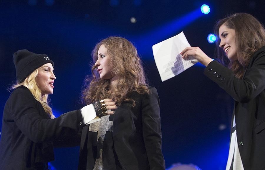 Толоконникова и Мадонна