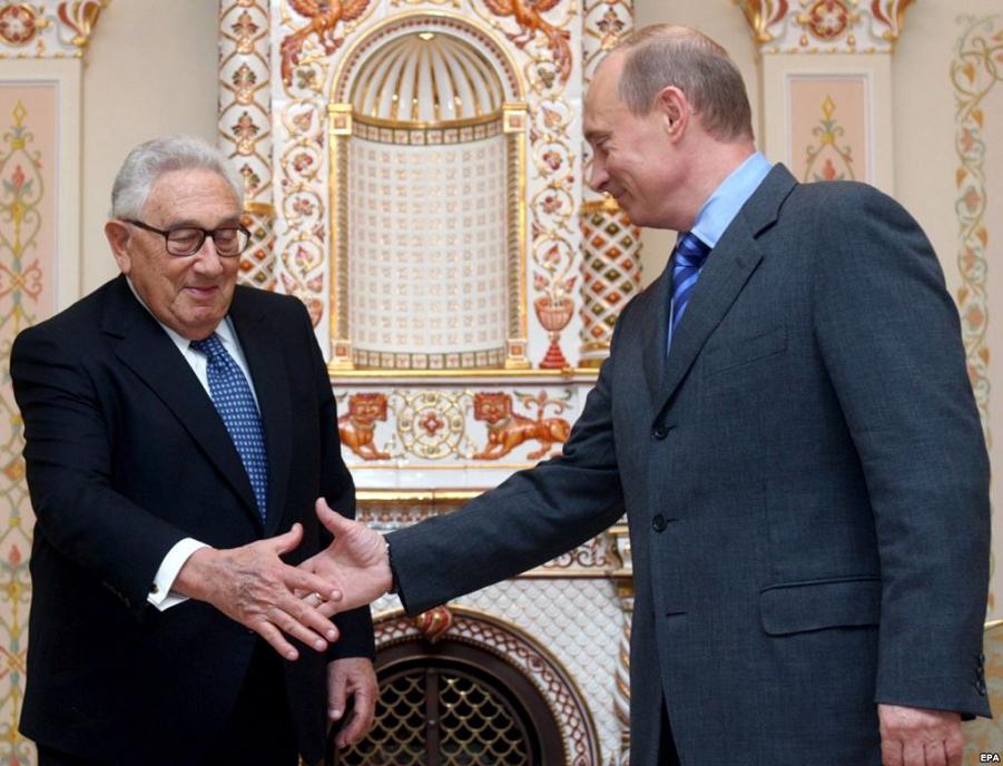 Путин-Киссинджер