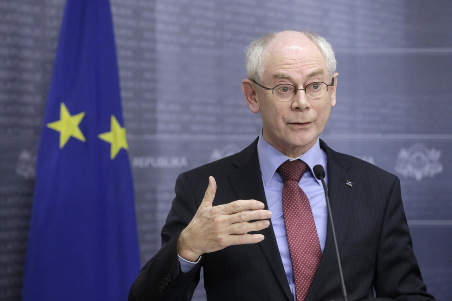 Президент ЕС Ван Ромпей