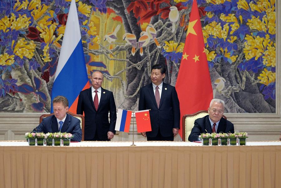 Газовый контракт с КНР