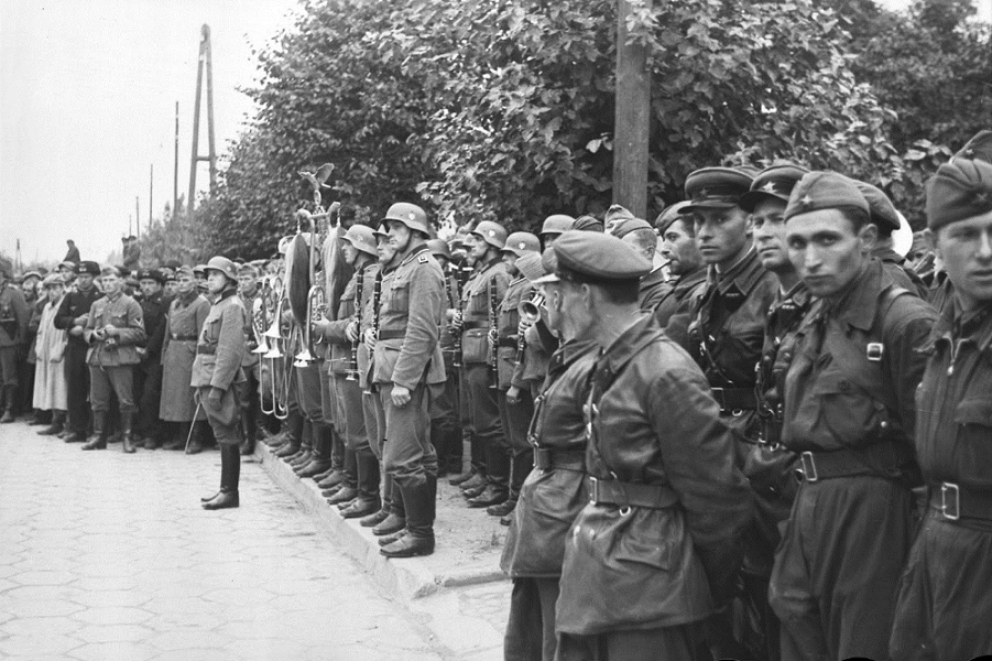 Немецко-совесткий парад в Бресте, 22.09.1939
