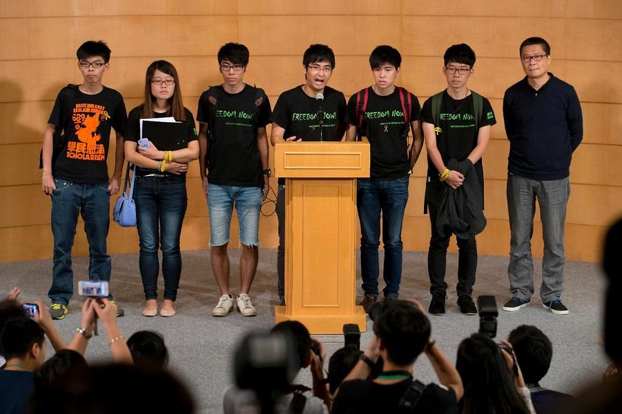 HongKongDemocracyProtest