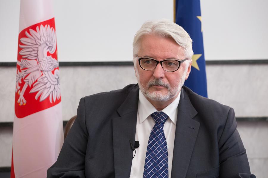 министр иностранных дел Польши Ващиковский.png