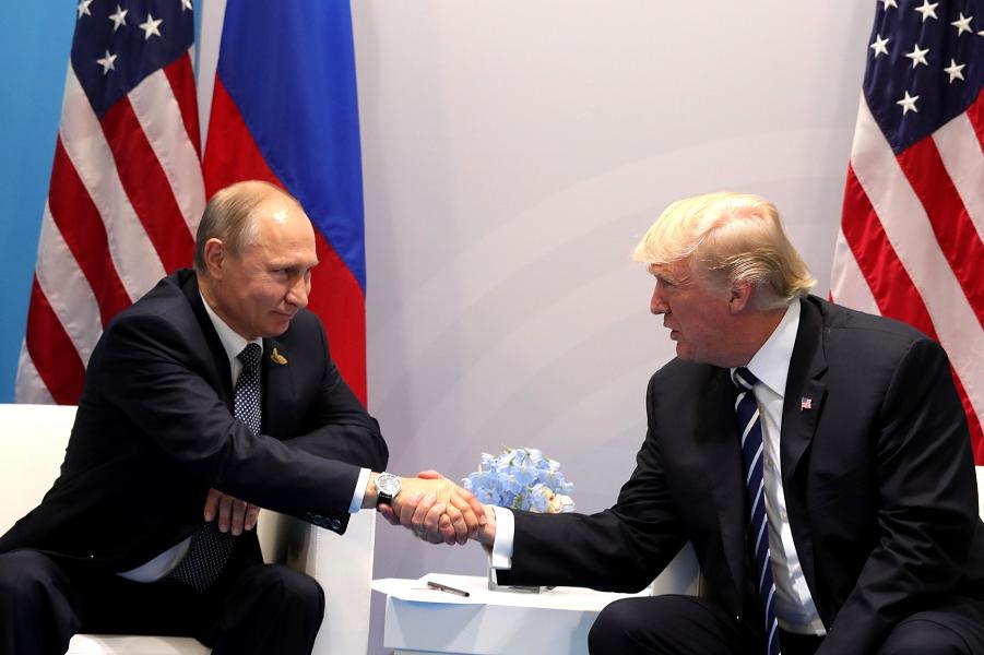 Трамп и Путин поладили в Гамбурге  7.07.17.png