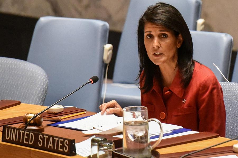 постпред США в ООН Никки Хейли на Совете безопасности.png