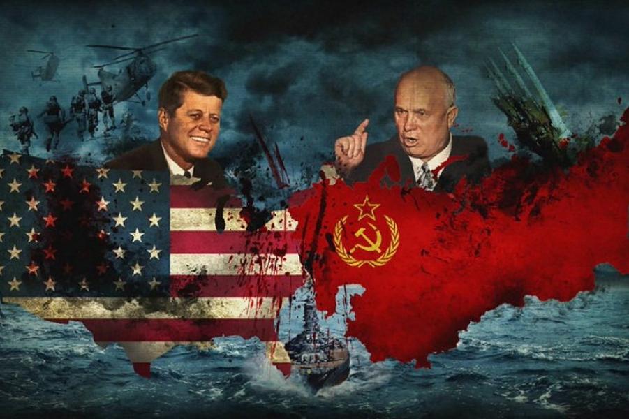 Карибский кризис, Кеннеди и Хрущев.png