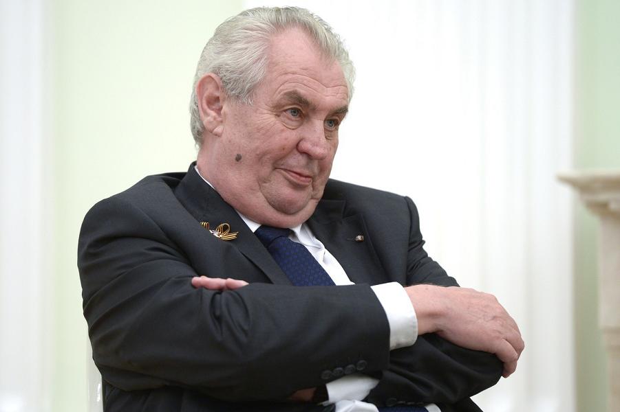 Президиент Чехии Милош Земан.png
