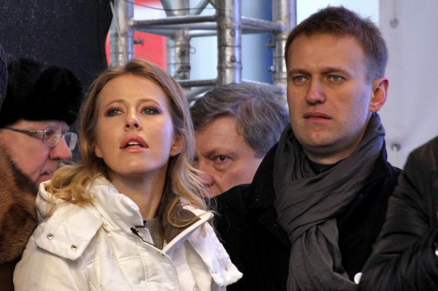 ССобчак с Навальный на митинге.png
