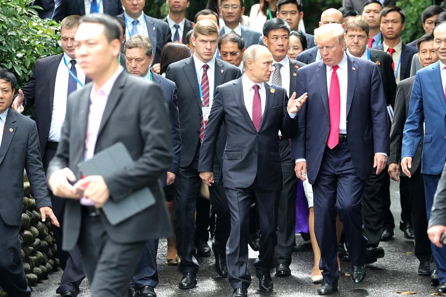 Владимир Путин и Дональд Трамп одобрили совместное заявление по Сирии, 11.11.17.png