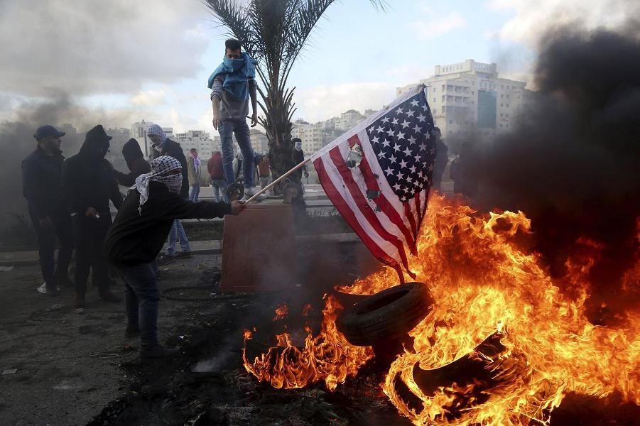 Палестинцы протестуют, 7.12.17.png
