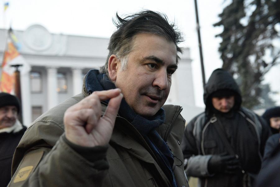 Саакашвили в лагере перед Верховной Радой, декабрь 2017.png