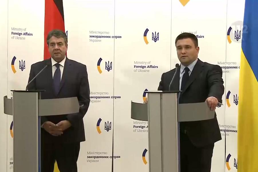 Министры иностранных дел Габриэль и Климкин, 3.01.18.png