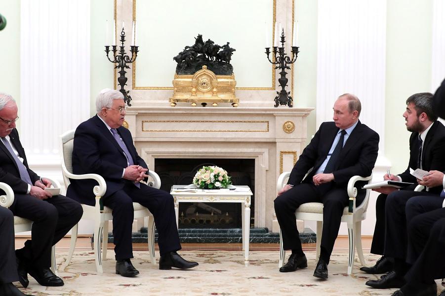 Переговоры с президентом Палестины Махмудом Аббасом, 12.02.18.png
