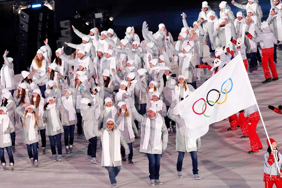 Открытие Зимних Олимпийских игр-2018 в Пхенчхане, команда России.png
