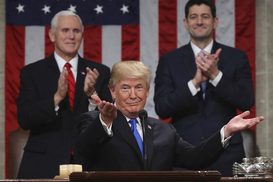 Трамп в Палате Представителей Конгресса, 30.01.18.png