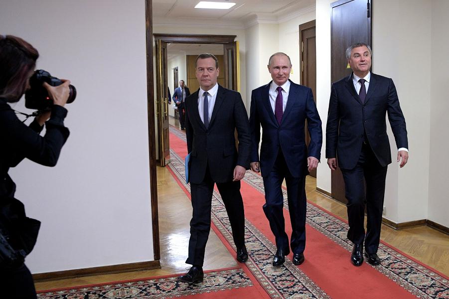 Путин и Медведев в Государственной Думе, на утверждении Медведева, 8.05.18.png