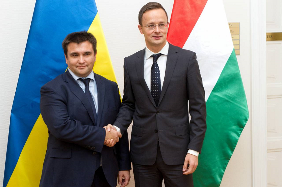 Климкин и Сийярто, мид Венгрии.png