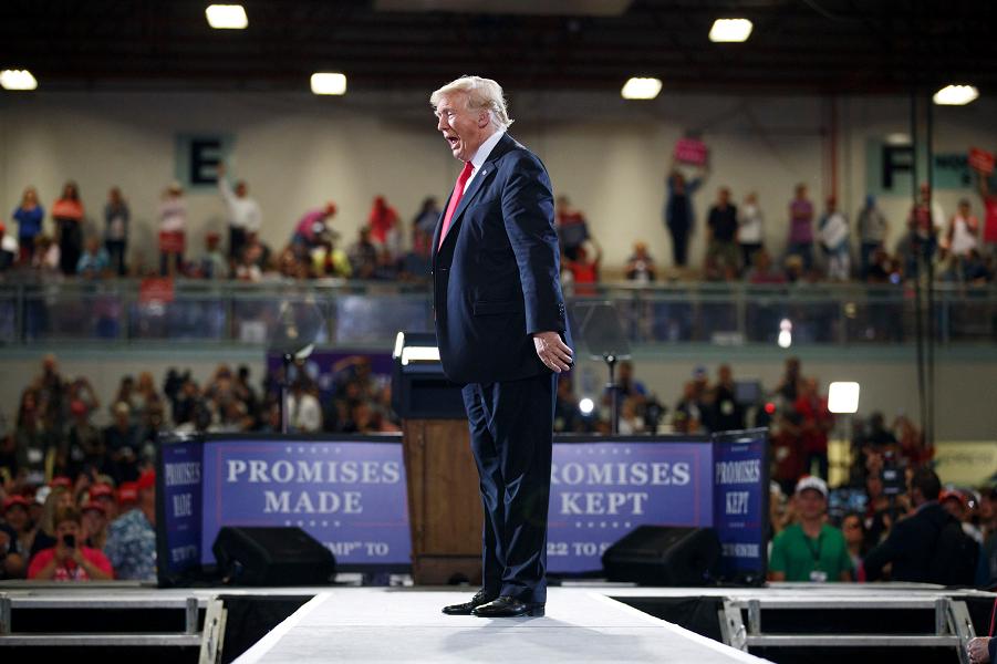 Трамп на митинге в штате Монтане.png