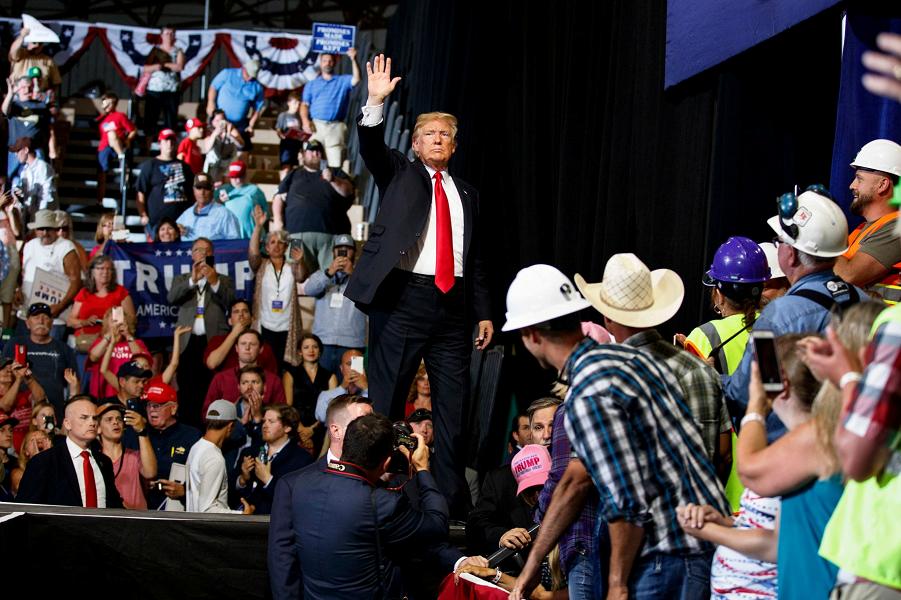 Трамп на митинге в Montana ExpoPark, 5.07.2018.png