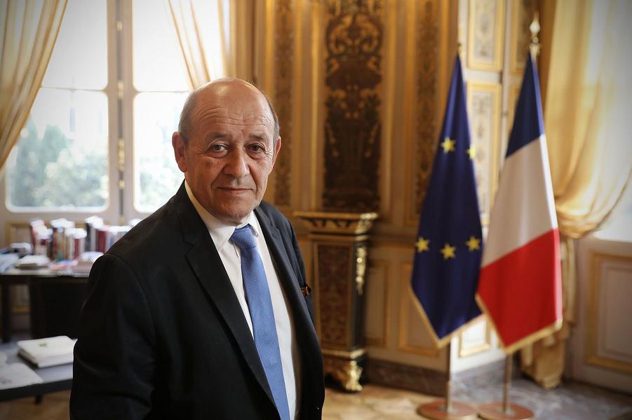 Ле Дриан, министр иностранных дел Франции.png