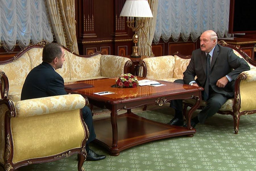 Лукашенко принял посла РФ Бабича, 10.10.18.png