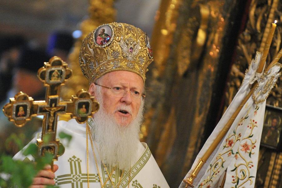патриарх Константинопольский Варфоломей.png