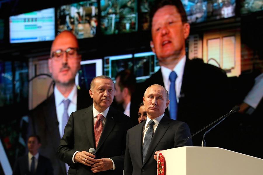 Церемония завершения строительства морского участка газопровода Турецкий поток, Стамбул, 19.11.18.png