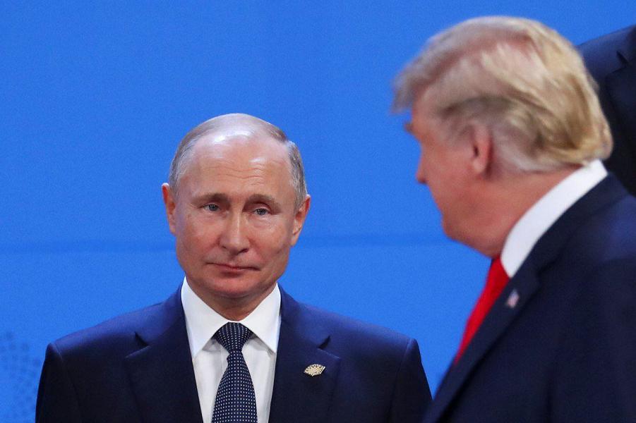 G-20, проход Трампа, которого Путин не видит в упор, 30.11.18.png