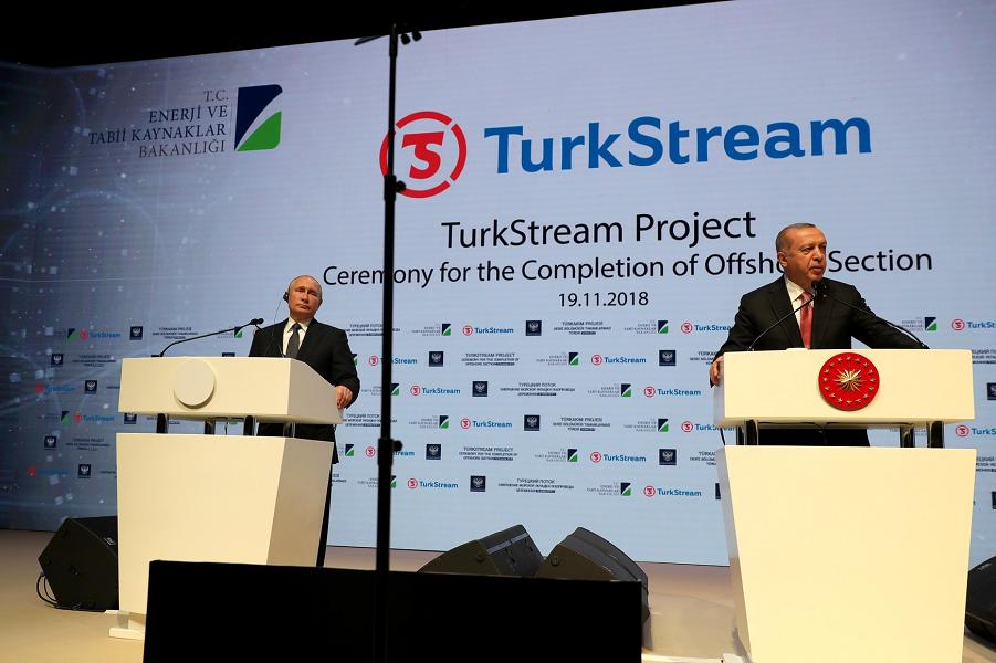 Церемония завершения строительства морского участка газопровода Турецкий поток, 19.11.12.png