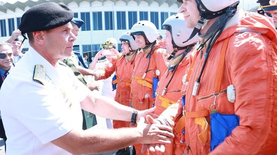 Торжественная встреча Ту-160 в Венесуэле-2, 11.12.18.png
