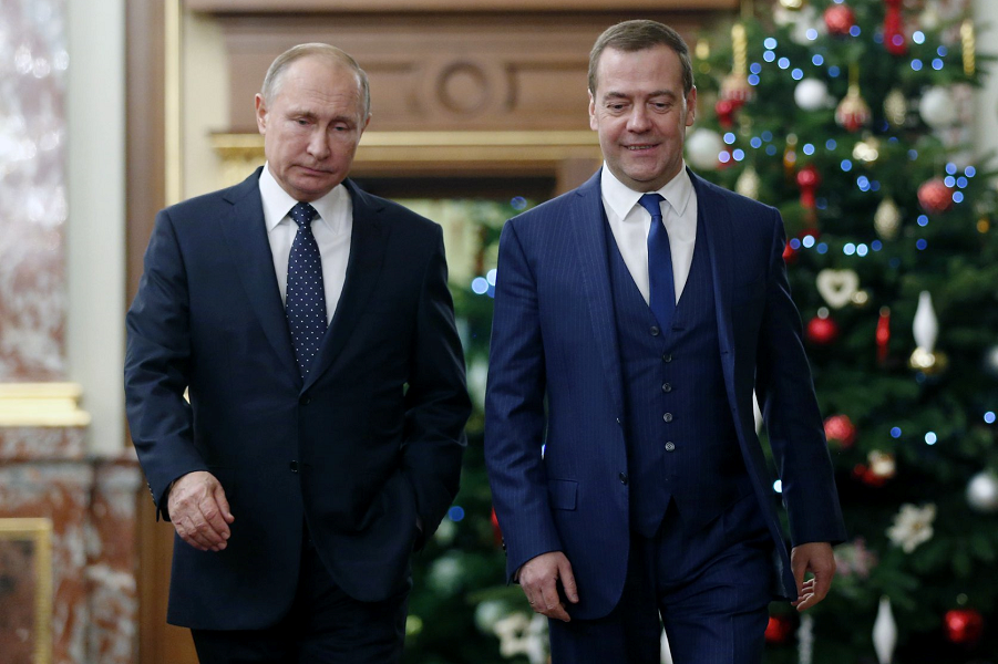 Встреча Путина с правительством Медведева, Фейсбук Медведева-2, 26.12.18.png