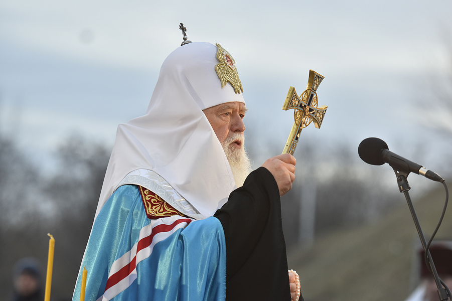 неканонический патриарх Украины Филарет.png