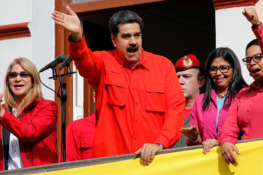 Венесуэла, президент Николас Мадуро.png