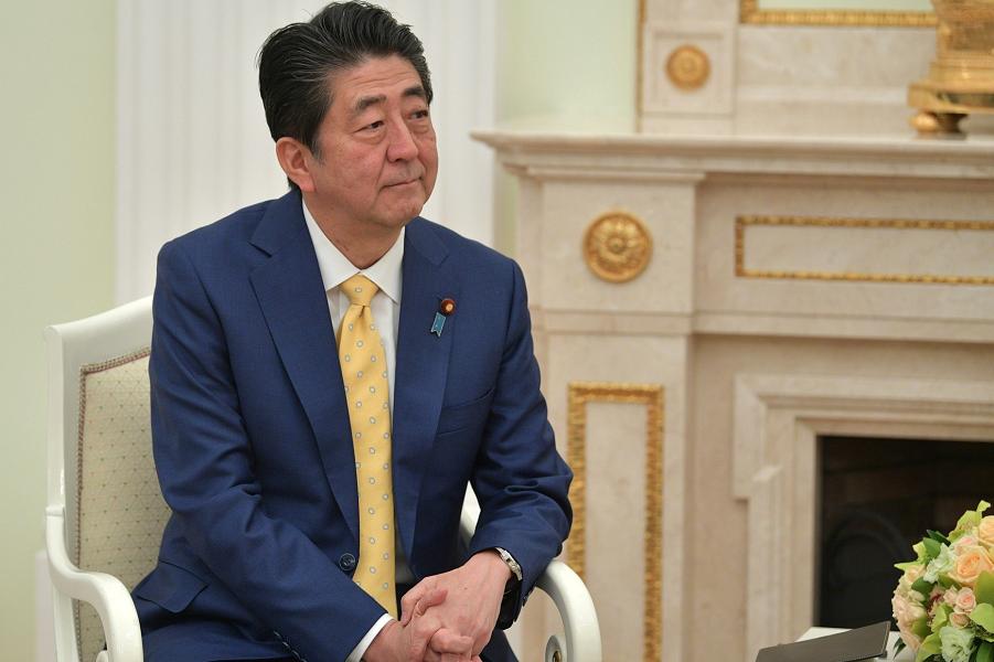 Синдзо Абэ в Кремле, на встрече с Путиным, 22.01.19.png